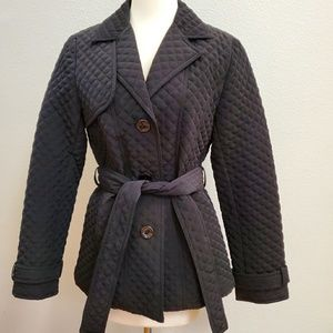 ESPRIT Quilted Jacket Black MEDIUM